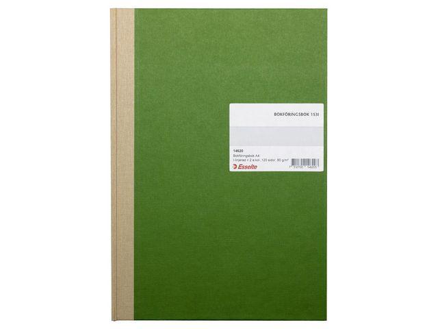 Bokföringsbok 153L, A4, I-linjerat, 120 sidor