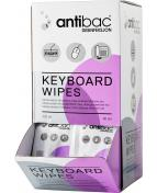 Antibac Keyboard Wipes, 80 st
