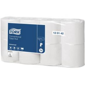 Toalettpapper TORK Universal T4, 1-lag, 56m, 8/fp