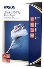 Epson Ultra Glossy Photo Paper - Blank - A4