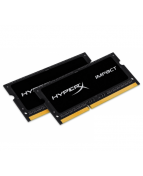 HyperX Impact Black Series - DDR3L - sats - 8 GB: 2 x 4 GB - SO