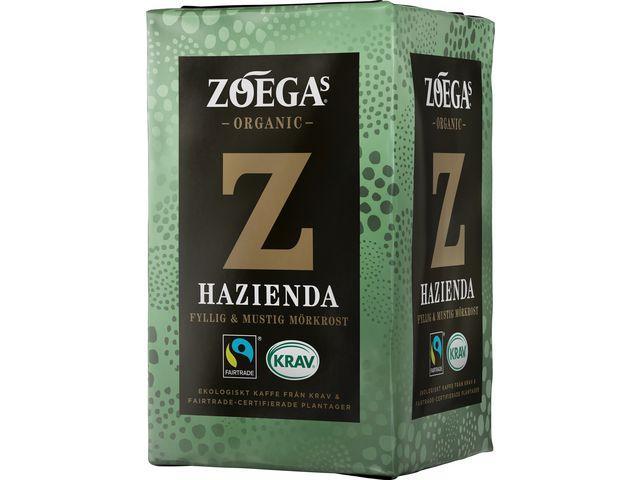 Kaffe Zoega Hazienda KRAV, brygg, 450g, 12st 12frp