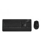 Microsoft Wireless Desktop 3050 - Sats med tangentbord och mus