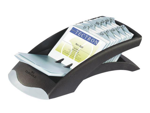 Visitkortslåda Durable Visifix Desk, 245x131x67mm