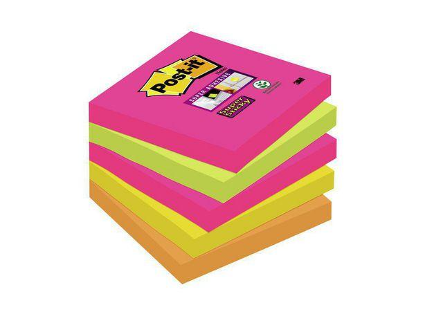 POST IT SuperS 76x76mm 654 SN CapeTown, bare 93 kr