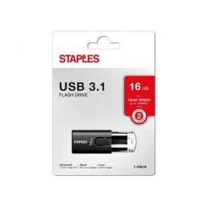 USB-Minne STAPLES USB 3.1 16GB