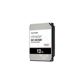 WD Ultrastar DC HC520 HUH721212ALE601 - Hårddisk - krypterat