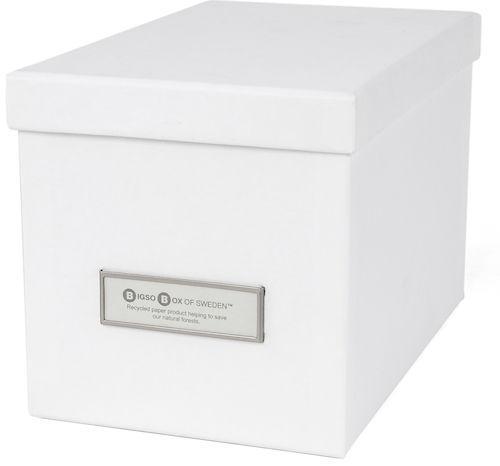 Förvaringsbox Kristina vit