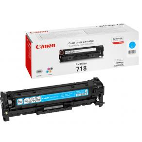 Canon 718 Cyan - Cyan - original - tonerkassett
