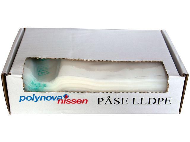 Plastpåse Livsmedelsförvaring, biologisk, 300x500mm, 5L, 2000/fp