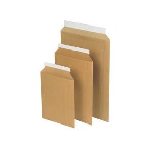 Kartongpåse A4 348x245mm brun, P&S, 100/fp