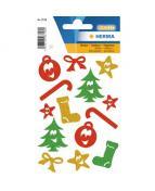 Herma stickers Magic julgran (1)