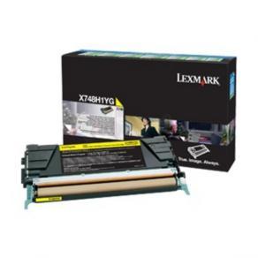 Lexmark - Gul - original - tonerkassett Lexmark