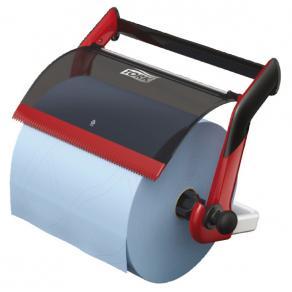Väggställ Industritork TORK W1, röd/svart