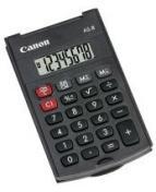 Miniräknare CANON AS-8 svart