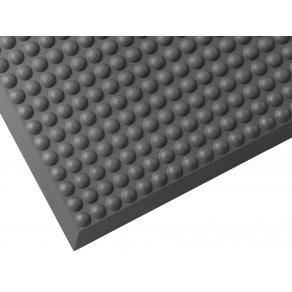 Ståmatta Yoga Pur 45x60cm, gummi grå