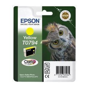 Epson T0794 - 11 ml - gul - original - blister