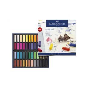 Torrpastellkritor Faber-Castell, 48 färger