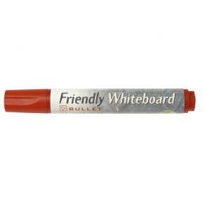 Whiteboardpenna FRIENDLY Röd, konisk, 10st