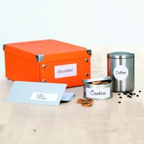Etiketter HERMA Premium, 52,5x29,7mm, 40 per sida, 4000/fp