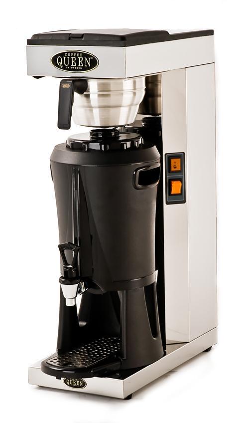 Kaffebryggare med termos