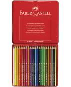 Färgpenna Faber-Castell, 24 färger