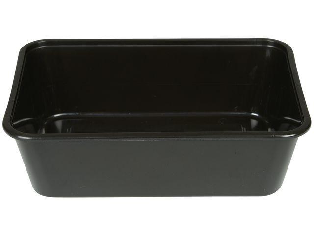 Mikroform svart 750 ml 50/FP