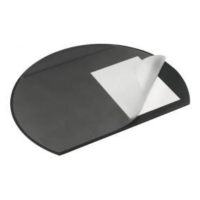 Skrivunderlägg DURABLE Oval Plus svart, 65x52cm