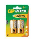 Batteri GP Ultra LR14/C 1,5V 2/FP