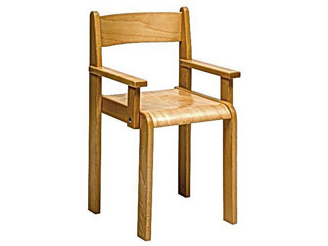 Barnstol, med armstöd, sitthöjd 30cm