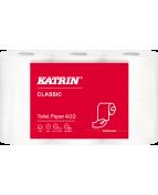 Toalettpapper KATRIN Classic 400ark, 2-lag, 42rl/fp