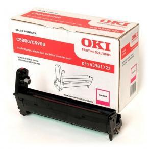 OKI - Magenta - valsenhet - för C5550 MFP,