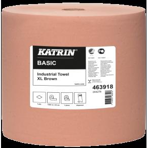 Industritorkrulle KATRIN Basic XL Brun, 1-lag, 1000m/rl