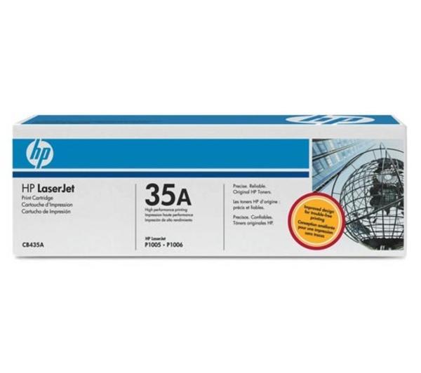 Toner HP CB435A 35A Svart