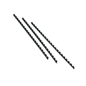 Plastspiral GBC 25mm Svart 50/FP