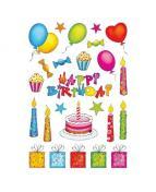 Herma stickers Decor födelsedag (2)