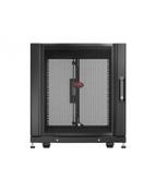 """APC NetShelter SX - Rack - skåp - svart - 12U - 19"""" - för P/N:"""