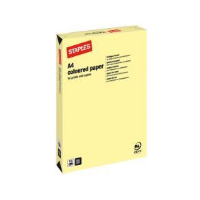 Kopieringspapper Ljusgul/Canary A4, 120g, 250/bunt