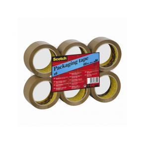 Packtejp SCOTCH 371 Brun, PP/gummi, 38mm x 66m