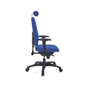 Kontorsstolar - Kontorsstol LANAB LD6340 blå utan svankstöd