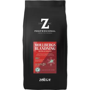 Kaffebönor Zoegas Mollbergs, rund mustig, 750g