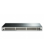 D-Link SmartPro DGS-1510-52X - Switch - L3 - Administrerad - 48