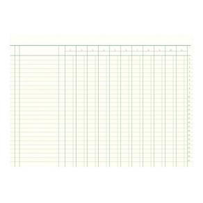 Bokföringsbok 226, 353x250mm, 11 kolumner, 48 sidor
