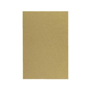 Dekorationskartong Guld, 50x70cm, 5/fp
