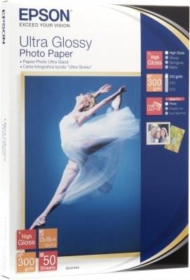 Epson Ultra Glossy Photo Paper - Blank - 100 x