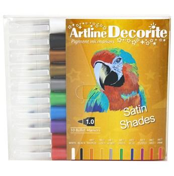 Artline Decorite Rund Satin 10-pack