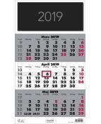 Väggkalender Triplaner Elegant