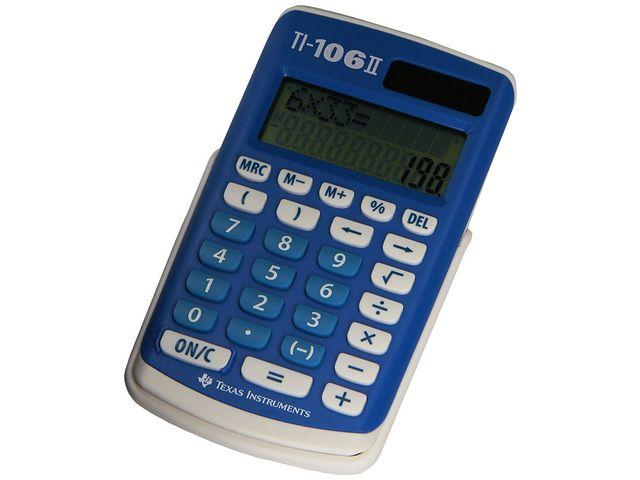 Grundskoleräknare TEXAS TI-106 II