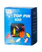 Häftstift Top Pin sorterat (100)