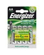 Batteri Energizer Recharge AA, 4/fp